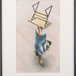 a Pastel artwork by Christine Watson